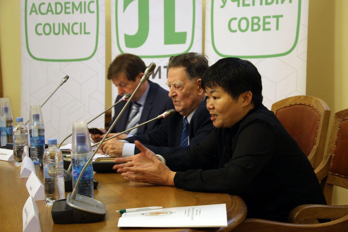 Профессор университета Цинхуа Ван Ци, Санкт-Петербургский политехнический университет Петра Великого