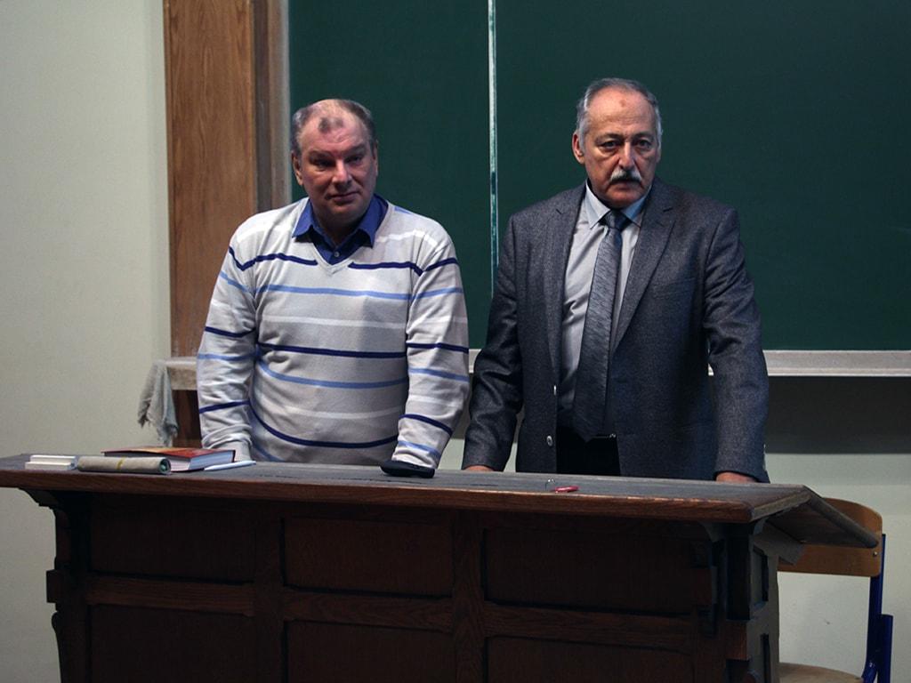 Совместная лекция Бориса Ковалева и Арона Шнеера