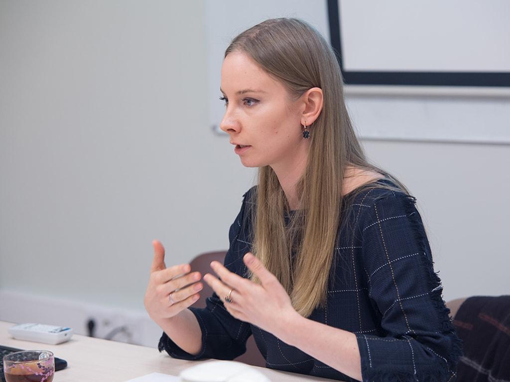 Выступление Наталии Никифоровой в центре STS