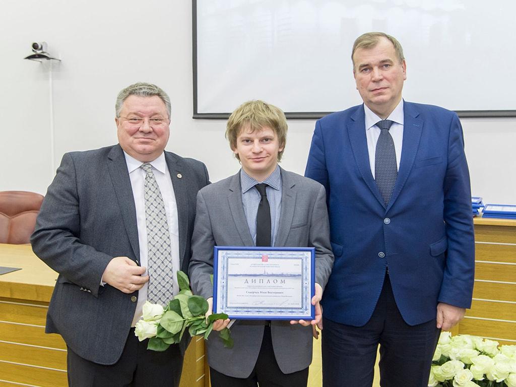 Победители конкурса Правительства Санкт-Петербурга