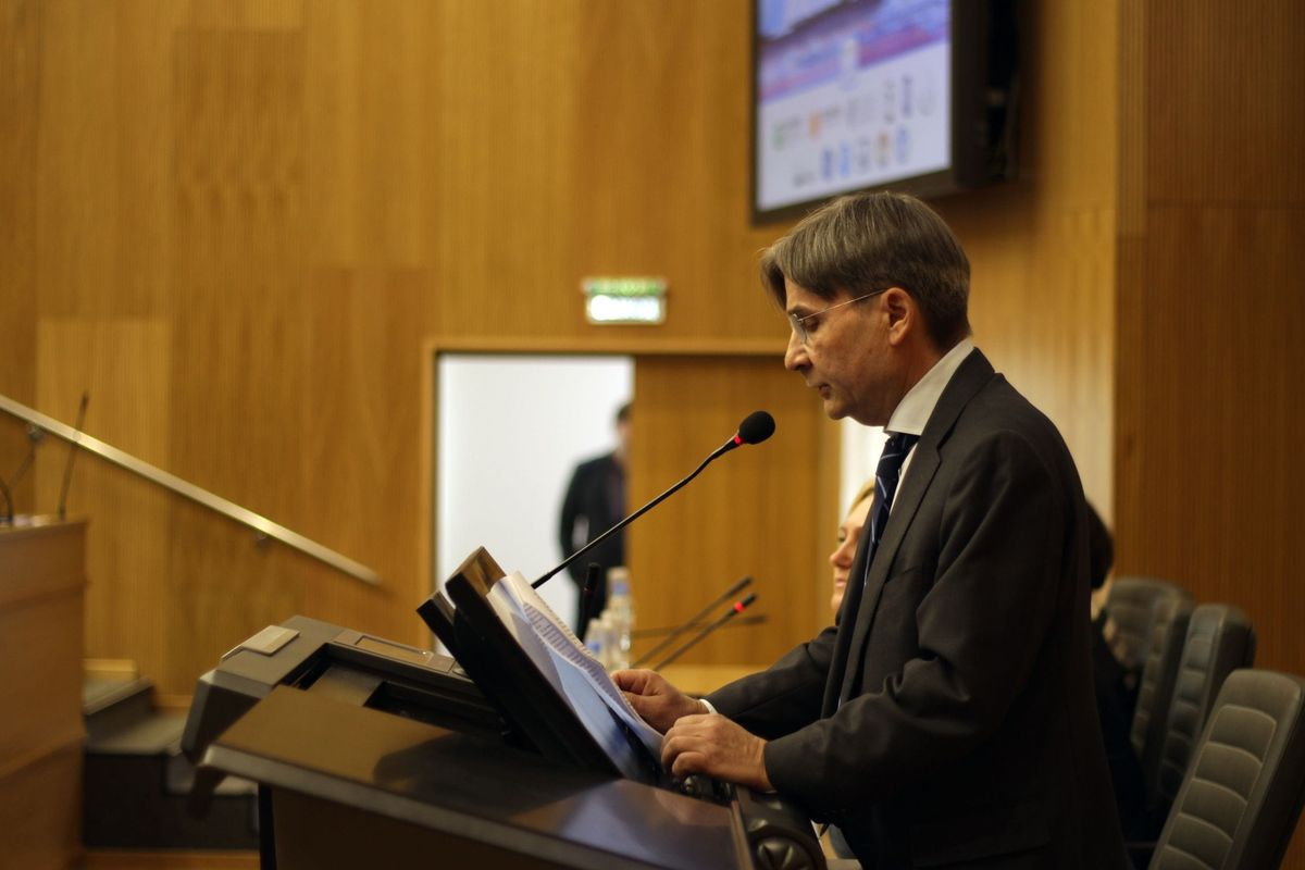 Генеральный консул Королевства Норвегия в Санкт-Петербурге Даг Малмер ХАЛВОРСЕН