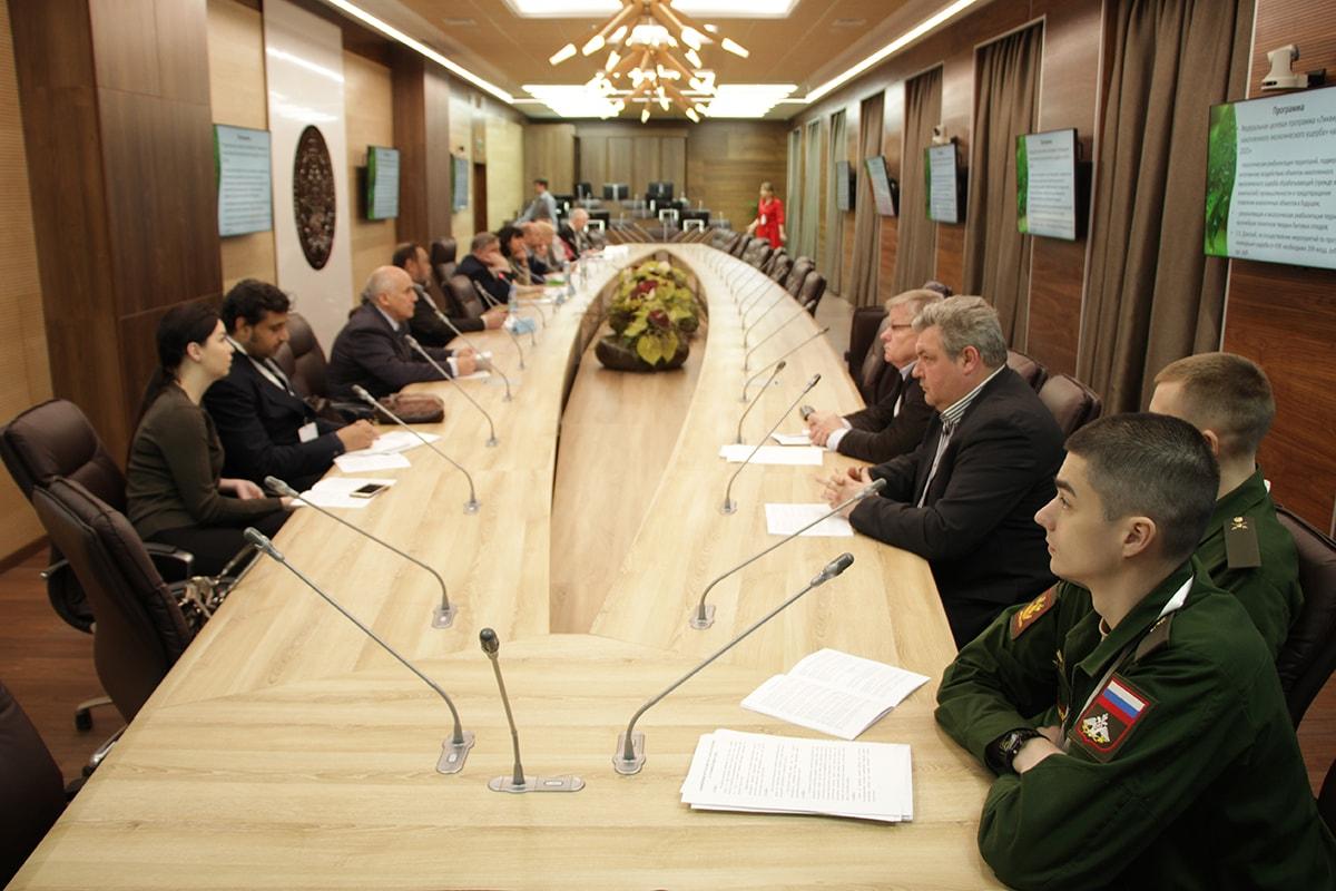Круглый стол «Проблемы экологической и техногенной безопасности в Арктическом регионе»