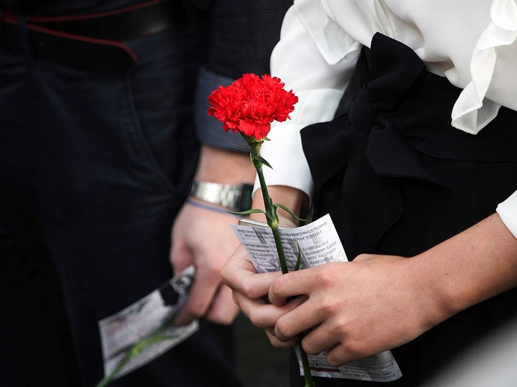 В память о героях блокадного Ленинграда